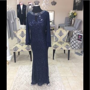 Dresses & Skirts - Navy sequined Formal